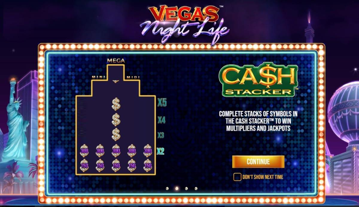 Vegas Night Life Slot Reels