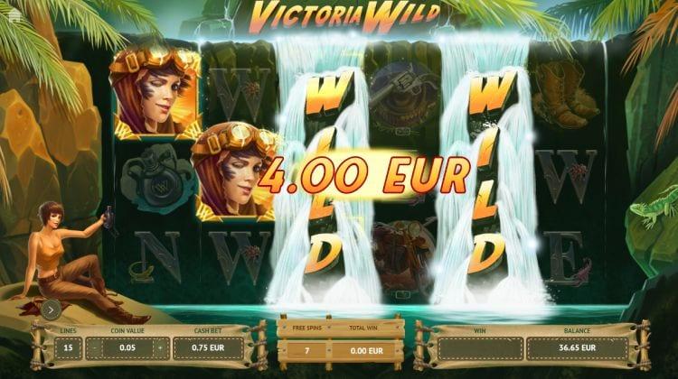Victoria Wild Slot Win