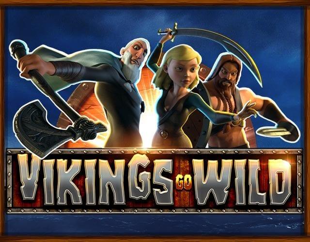 Vikings Go Wild online slots game logo