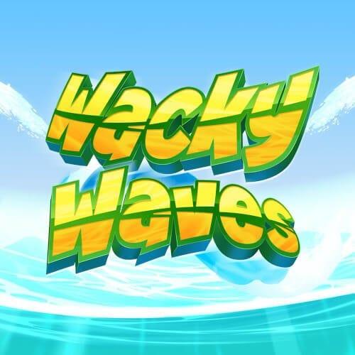 Wacky Waves Slot Logo Wizard Slots