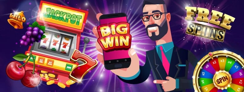 Pay by mobile slots image
