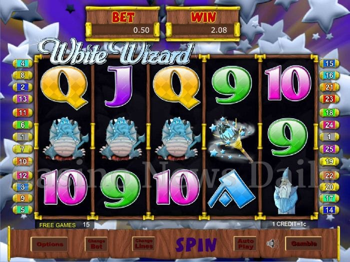 wizard slots online, slot, slots, casino, online slots, reels, 5x3, five by three, video slots, slot game