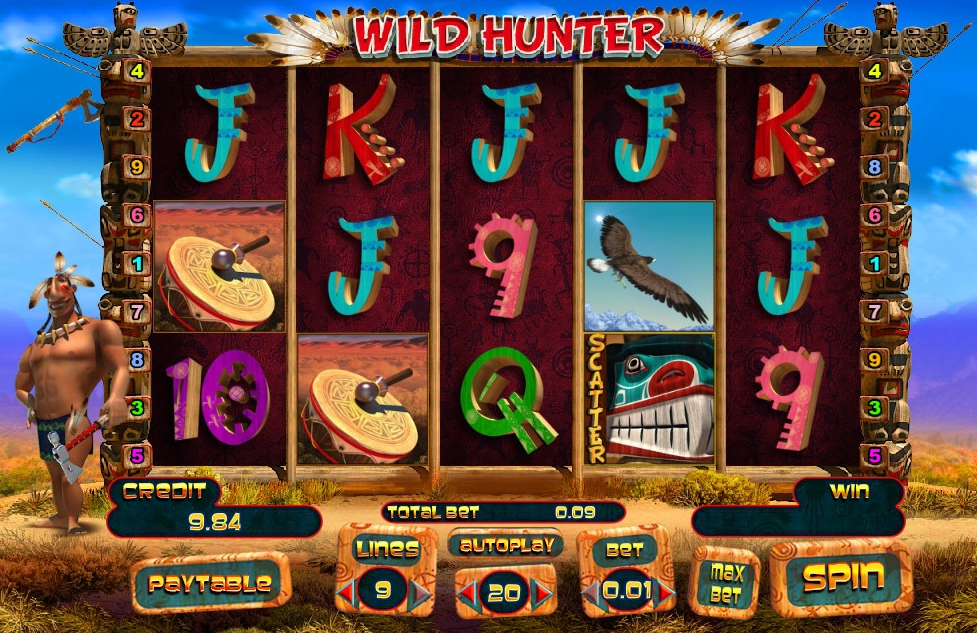 Wild Hunter game action
