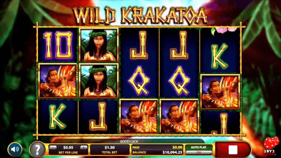 Wild Krakatoa Slot Online