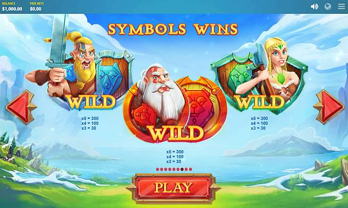 Wild Nords Slot Symbols