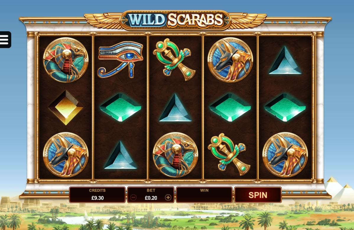 Wild Scarabs Gameplay 2