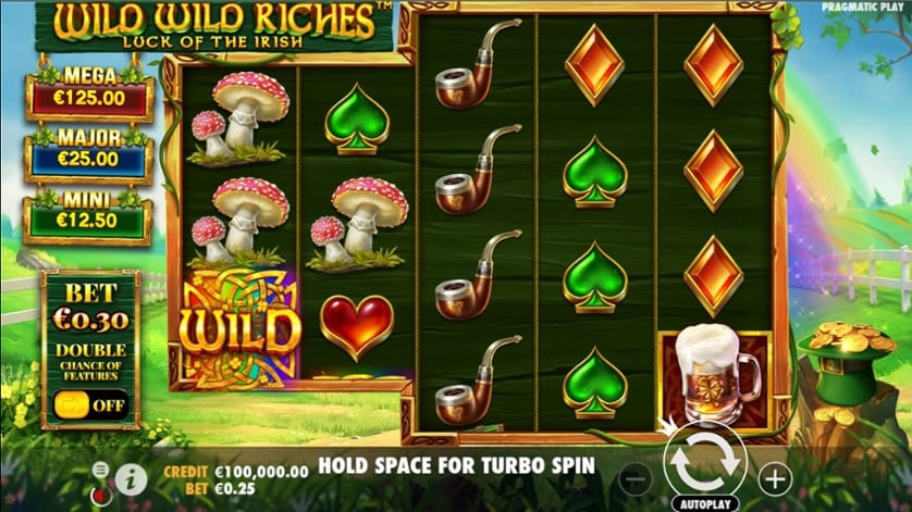 Wild Wild Riches Slot Game Play