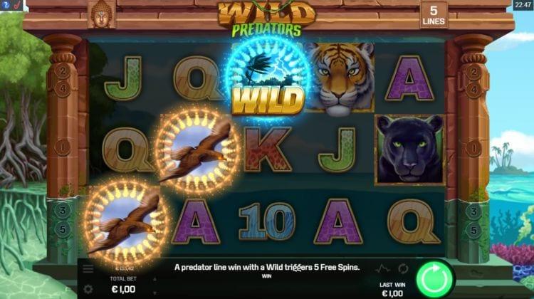 Wild Predators Slot Gameplay