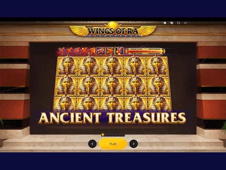 Wings of Ra Slot Bonus Features