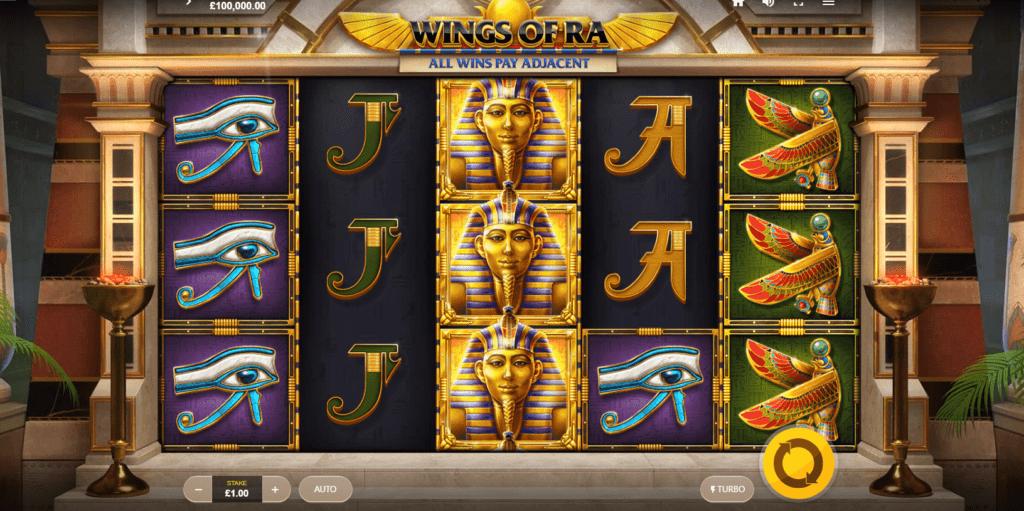 Wings of Ra Free Slots