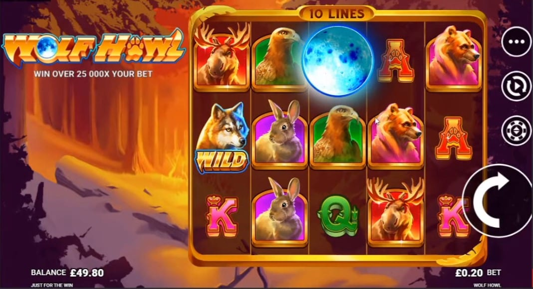 Wolf Howl Free Slots