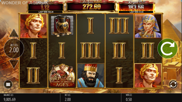 Wonder of Ages Slots Online