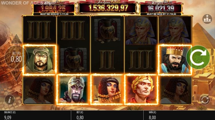 Wonder of Ages Online Slot Game