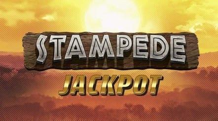 Stampede Jackpot Slots game logo