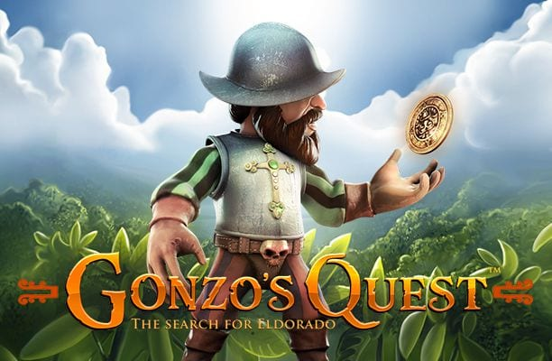 Gonzo's Quest online slots game logo