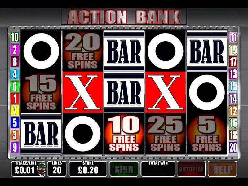 Action Bank Slots Wizard Slots