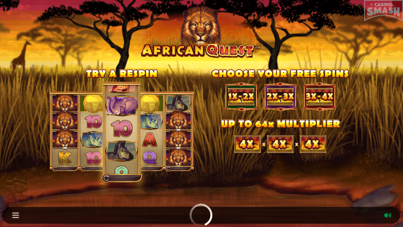 African Quest Slots Game Casino
