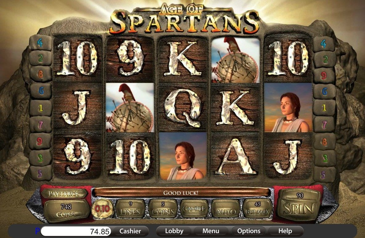 Age of Spartans gameplay