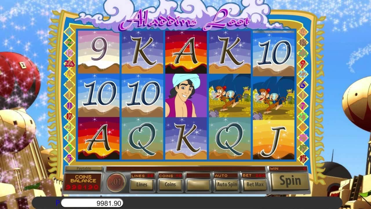 Aladdins Loot Slot Game