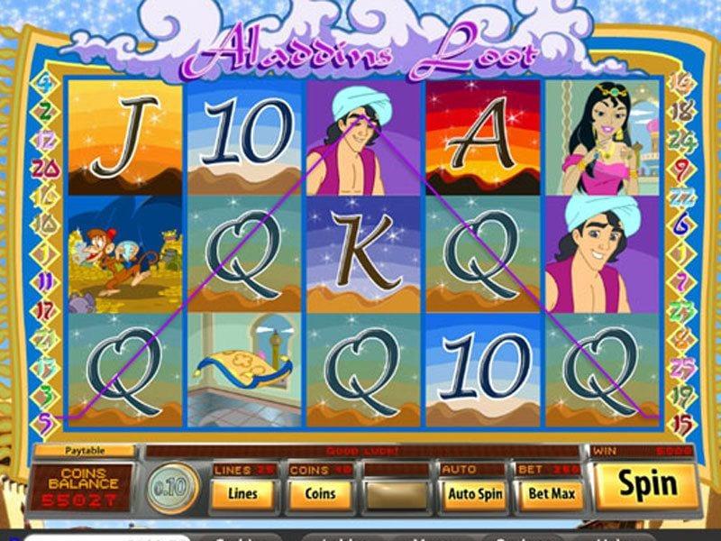 Aladdins Loot Free Slots