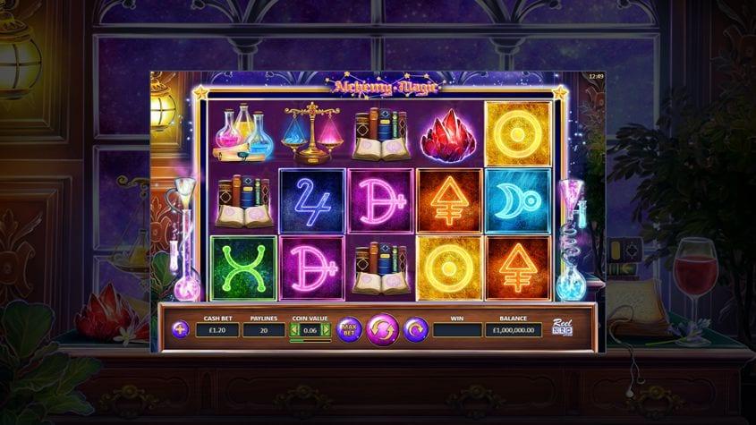 Alchemy Magic Slot Game Play