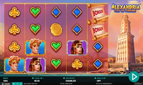 Alexandria City of Fortune Free Slots