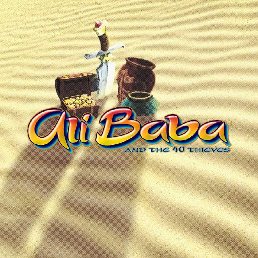 ali baba slots game logo