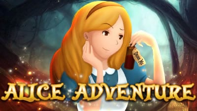 Alice Adventure Slots game logo