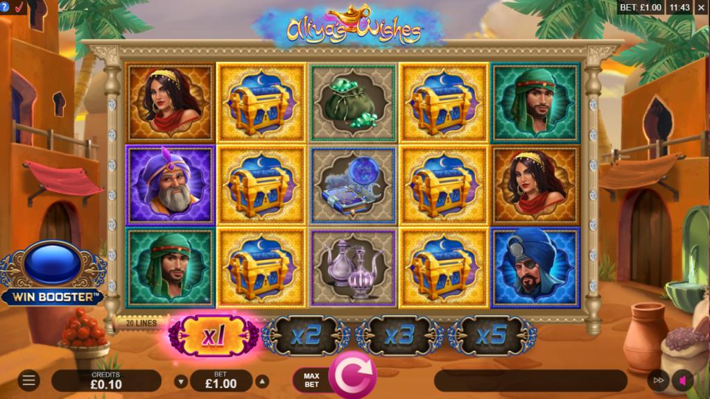 Aliya's Wishes Slot Games