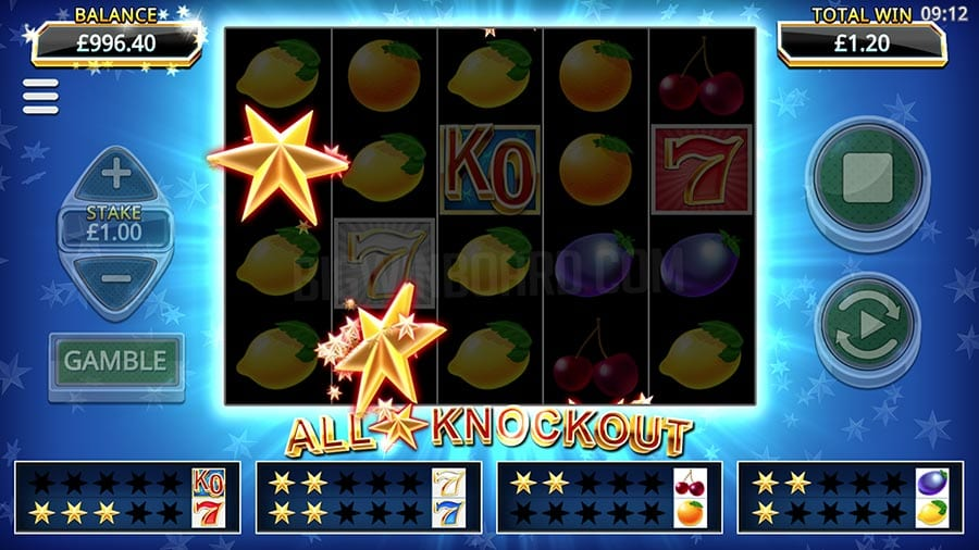 All Star Knockout Free Slots
