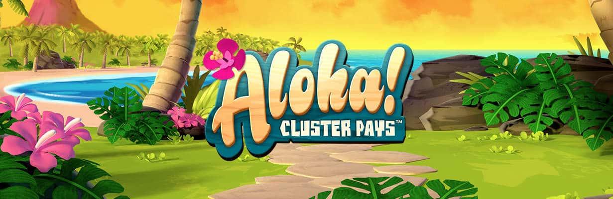 Aloha! slots game logo