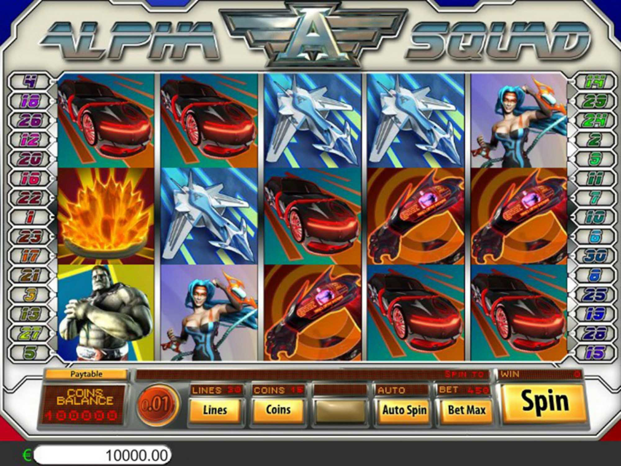 Alpha Squad Free Slots