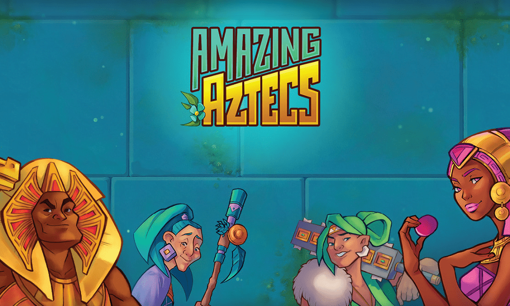 amazing aztecs slots game logo