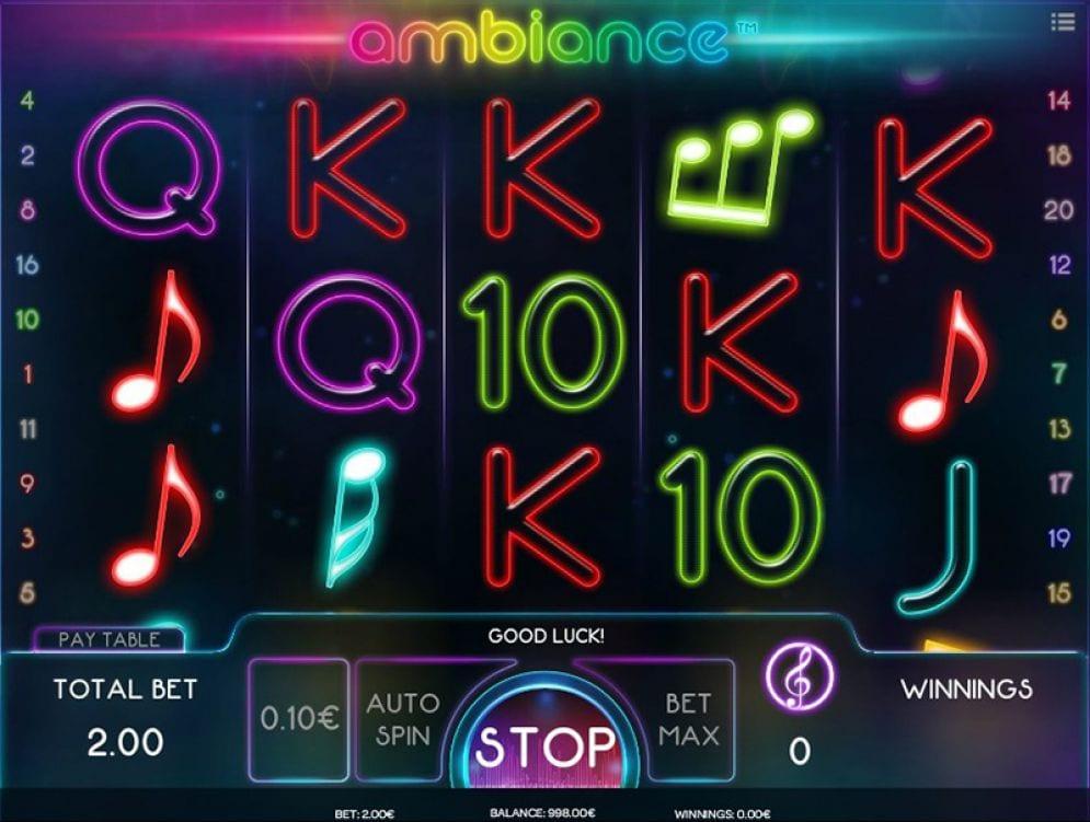 Ambiance Slot Game