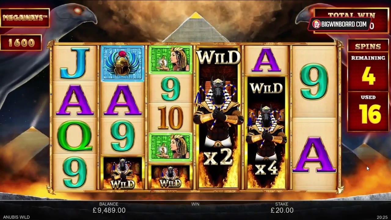 Anubis Wild Megaways Free Slots