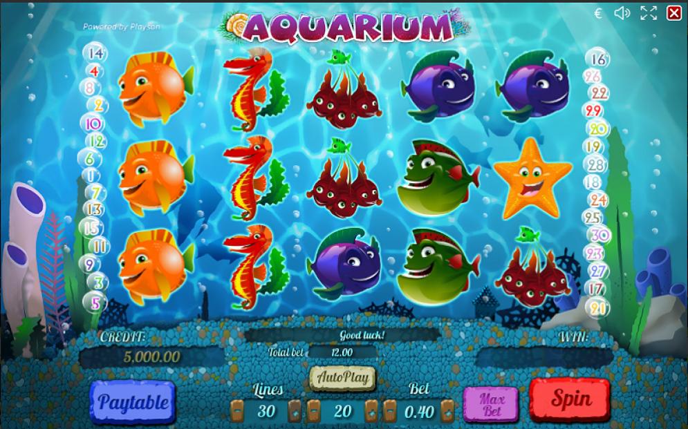 Aquarium Slots Game