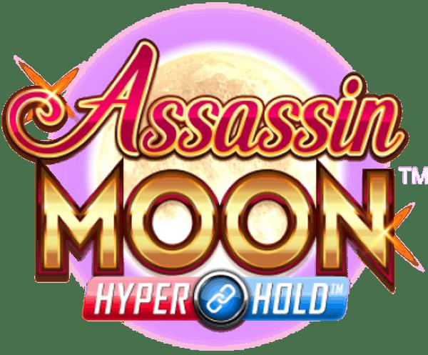 Assassin Moon Slot Logo Wizard Slots