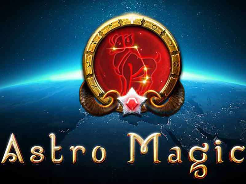 Astro Magic slots game logo