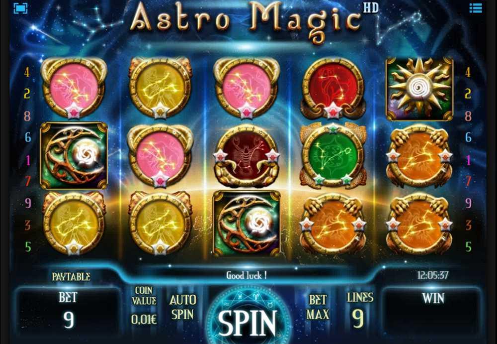 Astro Magic game action