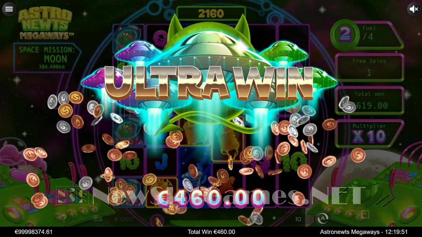 Astro Newts Megaways Slot Gameplay