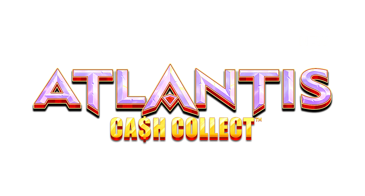 Atlantis Cash Collect Slot Logo Wizard Slots