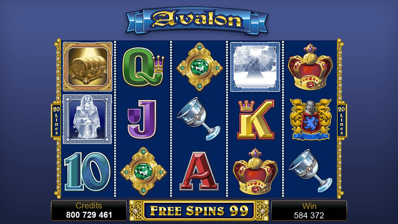 Avalon Slot Game