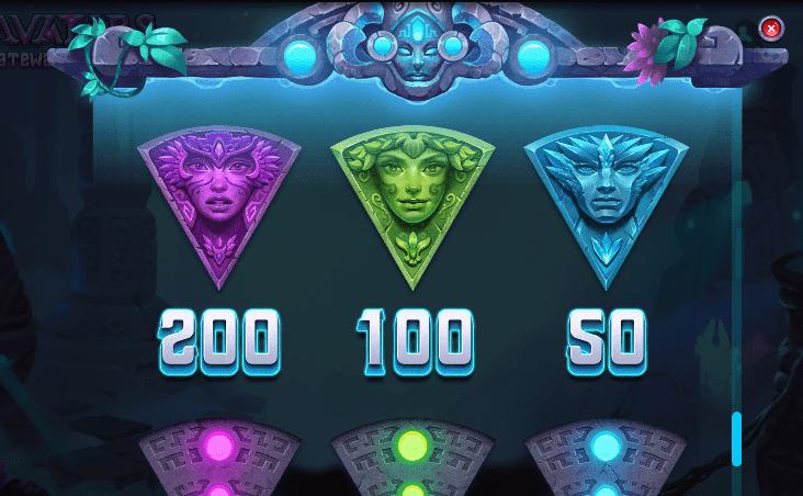 Avatars Gateway Guardians Slots Online