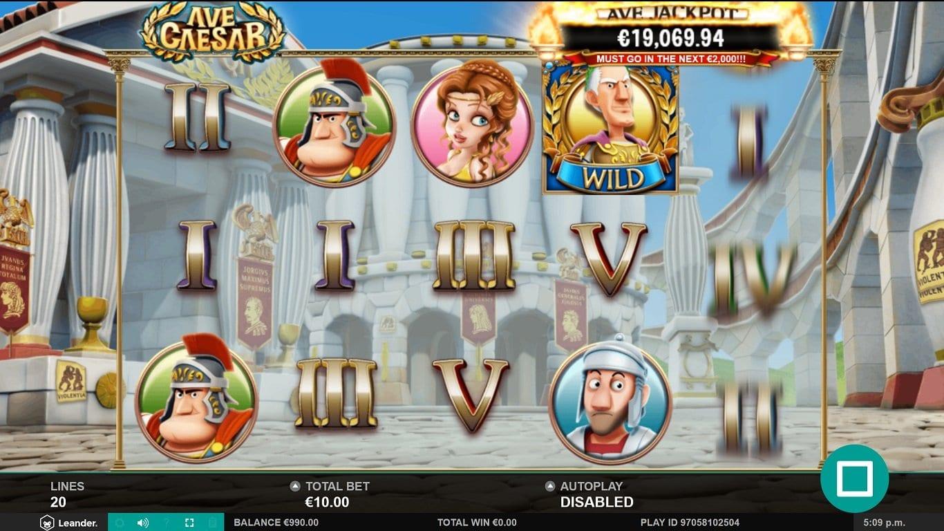 Ave Caesar Jackpot Slots Games