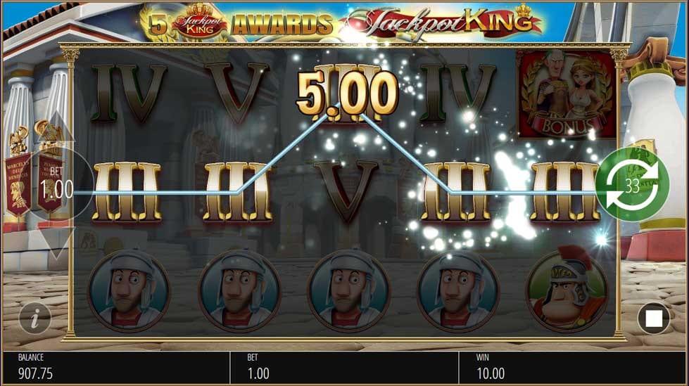 Ave Caesar Jackpot Slots Online