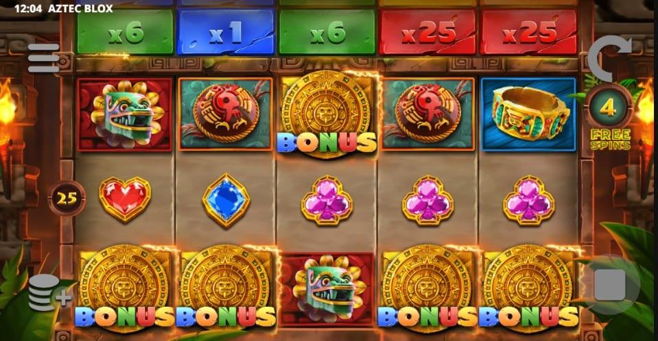 Aztec Blox Free Slots