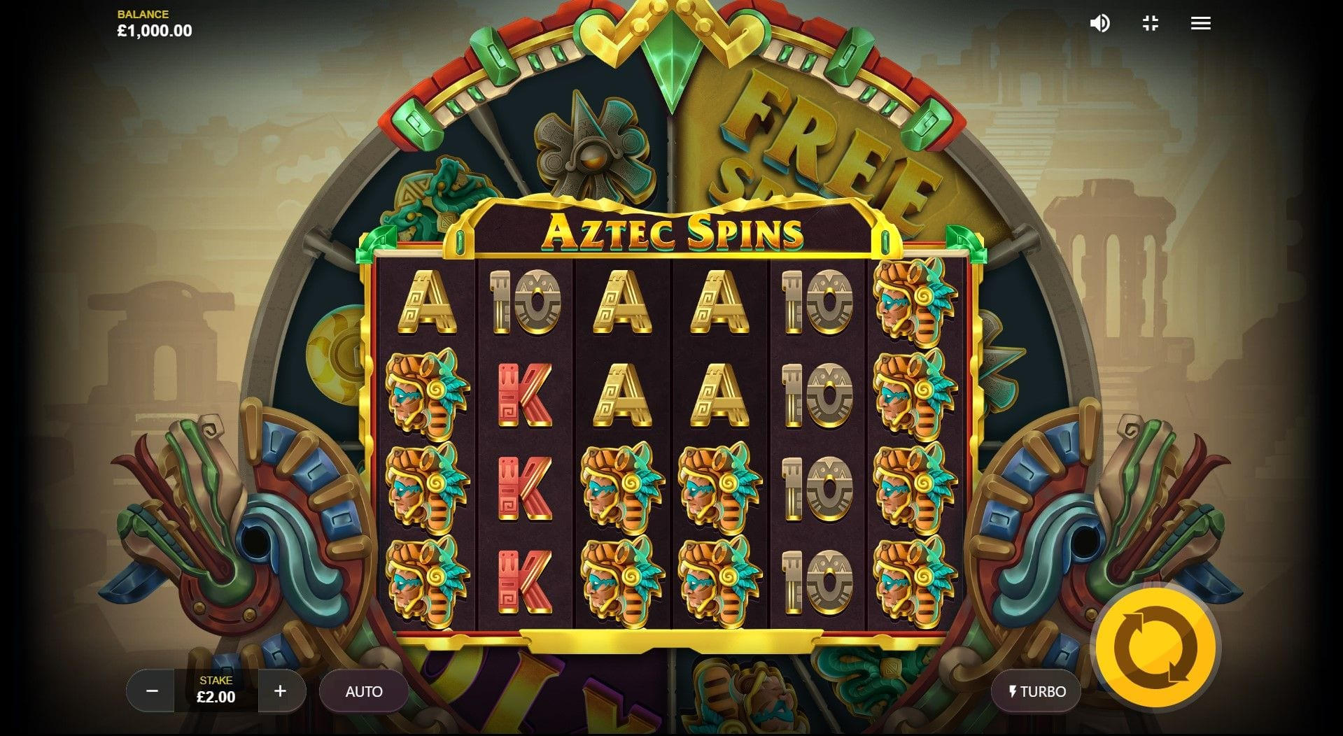 Aztec Spins Free Slots