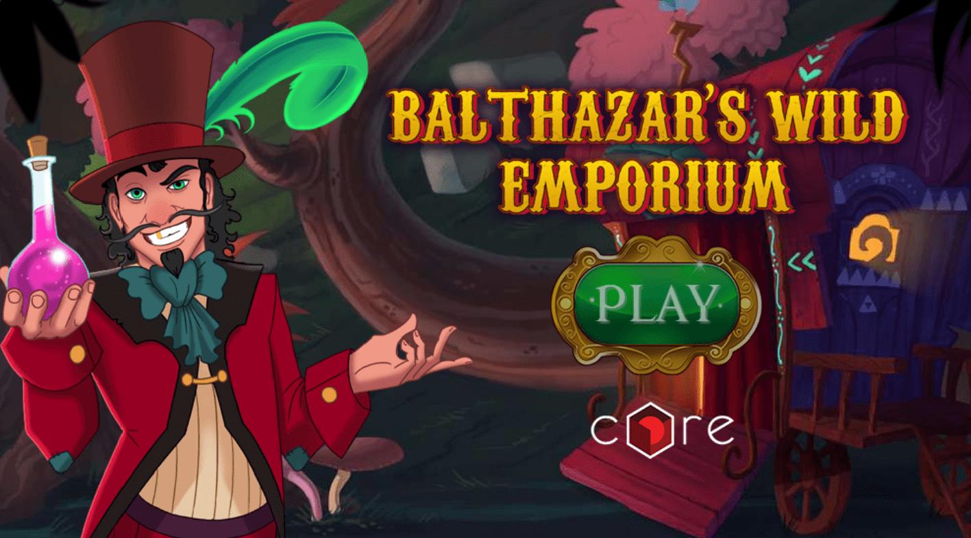 Balthazar's Wild Emporium slots game logo