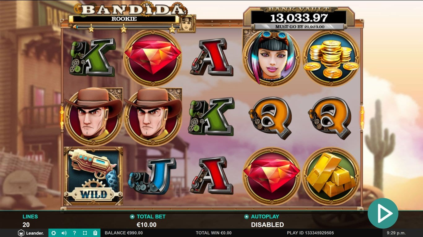 Bandida Slots UK