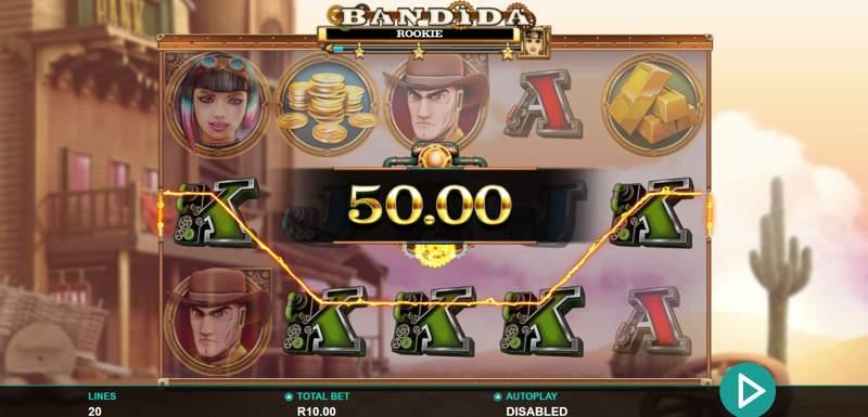 Bandida Slots Win
